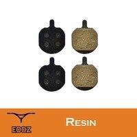 Eooz pastilhas de disco de freio de bicicleta  semi metálica  2 pares  mx2 e mx3 mx4  mx5  cx5 frete grátis