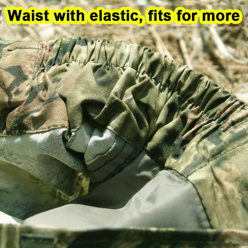 Mens Summer Hunting Pants Cotton Breathable Thin Large Size Camouflage Fishing Bionic Camouflage Trousers 3