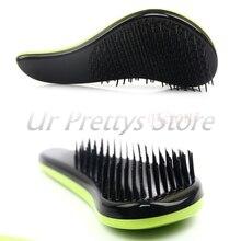 Colorful Magic Detangling Handle Tangle Shower Hair Brush Comb Salon Styling Tamer Tool  HTY07