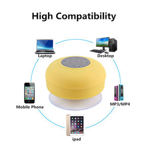 Image 5 - Portable Subwoofer Shower Waterproof Wireless Bluetooth Speaker Car Handsfree Receive Call Music Suction Mic For iPhone Samsung