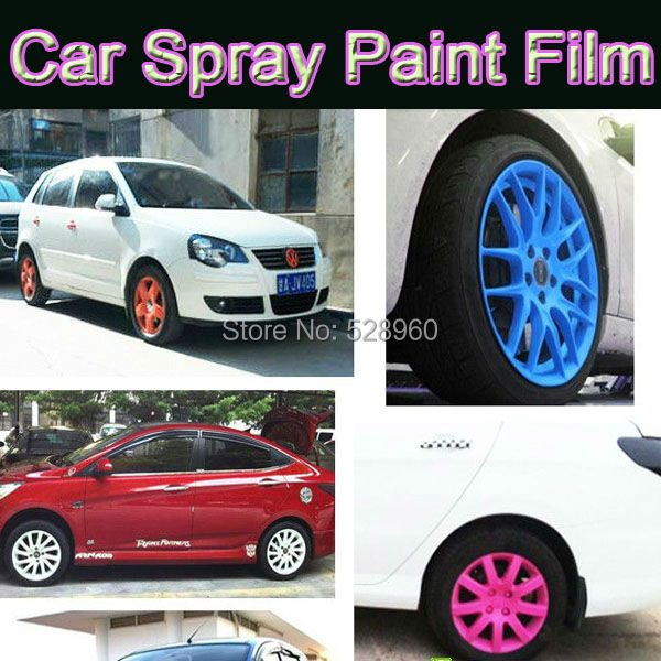 Paint For Cars >> Car Spray Paint Film Car Wheel Modification Wheel Hub Spray