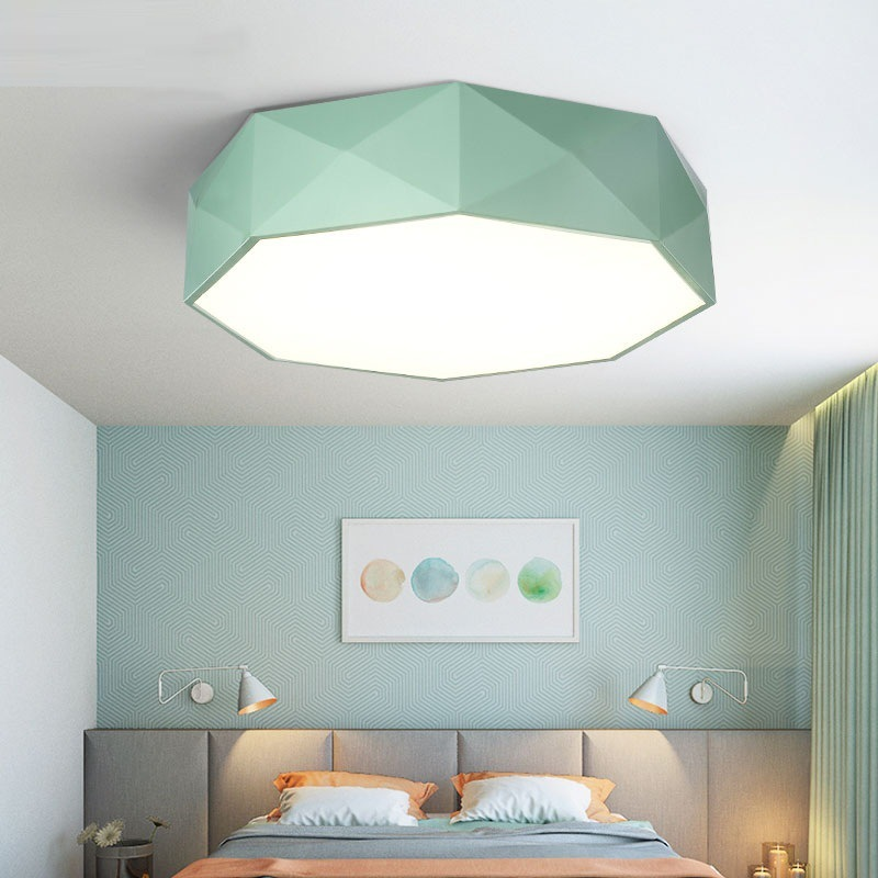 Modern LED ceiling light Black white Round simple decoration fixtures study dining room balcony bedroom living room ceiling lamp ceiling light living room is dome light round american idyllic corridor scandinavian simple balcony antique bedroom lamp 1852