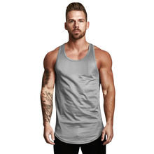 Tank Top Männer Sommer 2019 Atmungs Sleeveless O Neck Mesh Bodybuilding Sport Fitness männer tops debardeur homme(China)