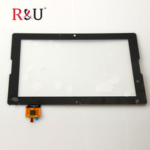 R&U 10.1 inch Contact Display Panel Digitizer Glass Sensor Lens Restore Elements Substitute exterior display For Lenovo A7600 Tab A10-70