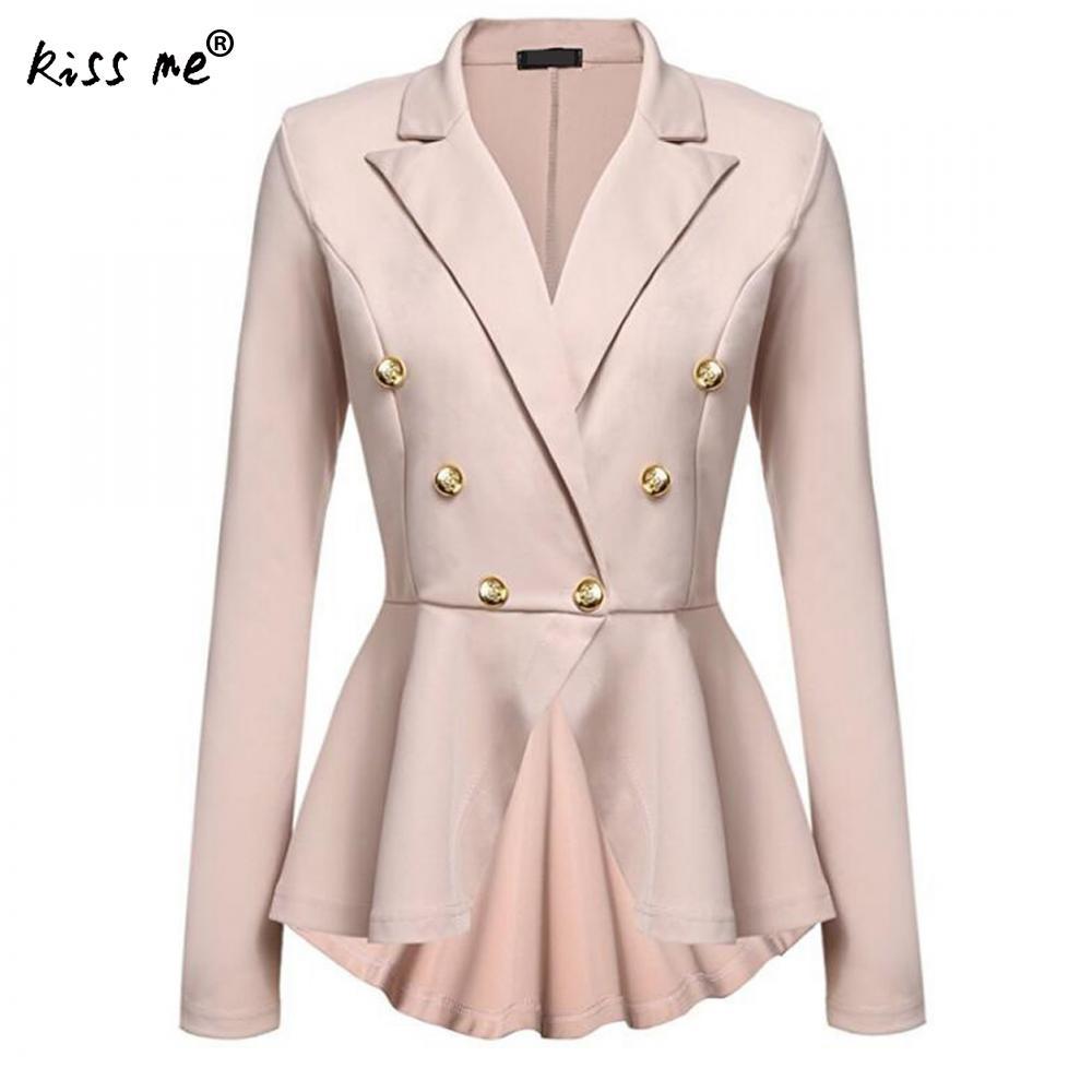 Women Blazers And Jackets 2018 Slim Women Leisure Suit Elegant Ladies Blazer Long Sleeve Jacket Casual Cloak Jackets For Office
