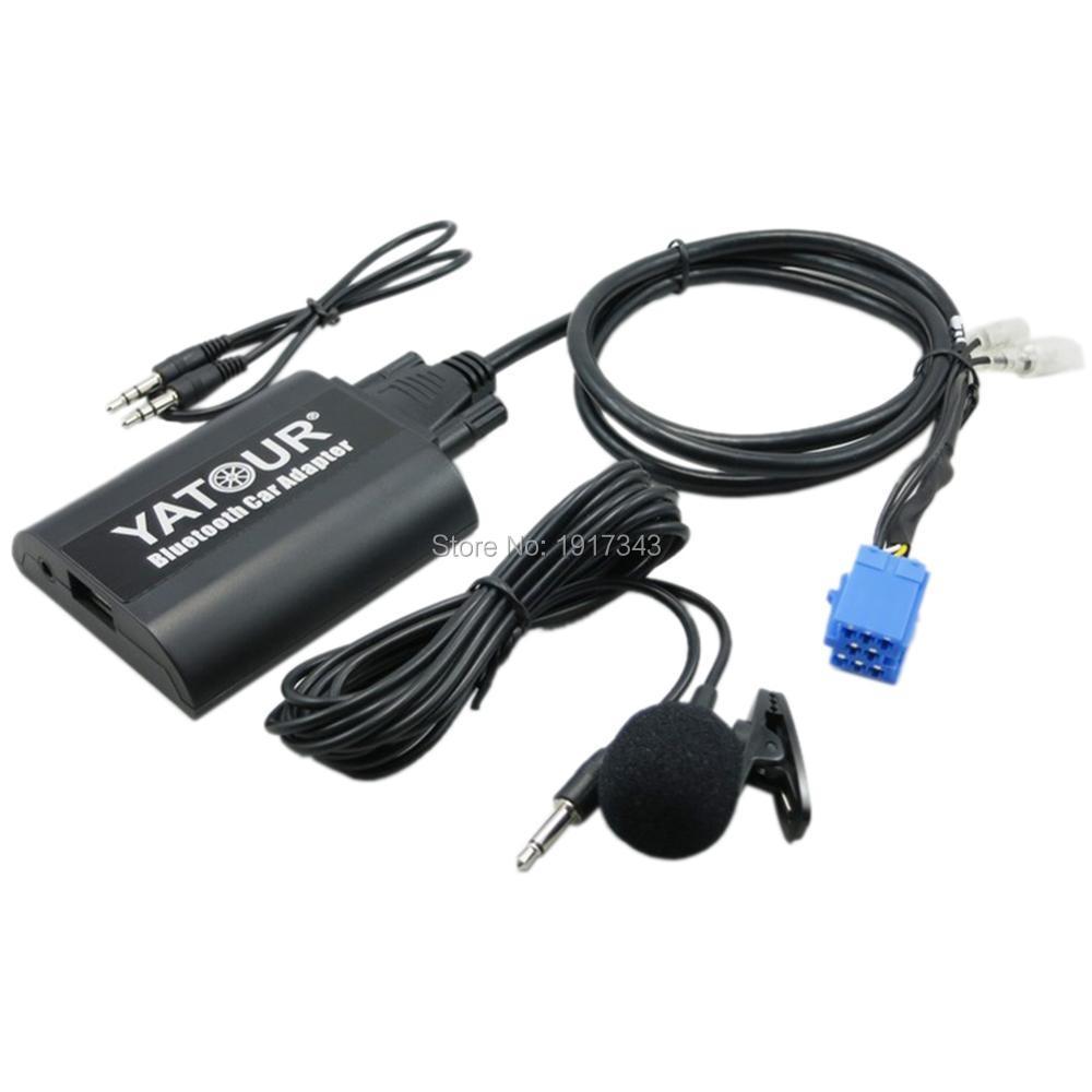 Yatour Adaptador de Coche Bluetooth Conector de CD de Música Digital - Electrónica del Automóvil - foto 3