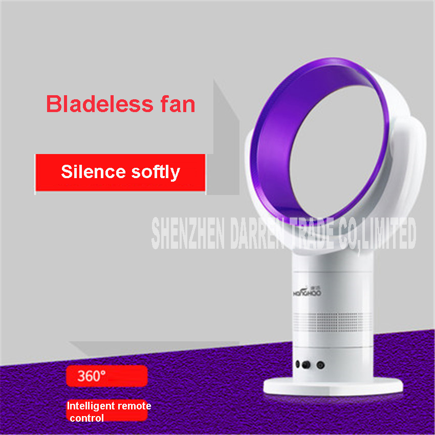 W128 Air Conditioning Cooling Fan A Low Noise AC220V-Recording Timing Remote Control Without Blades Fan Fan No leaf Exhaust Fan