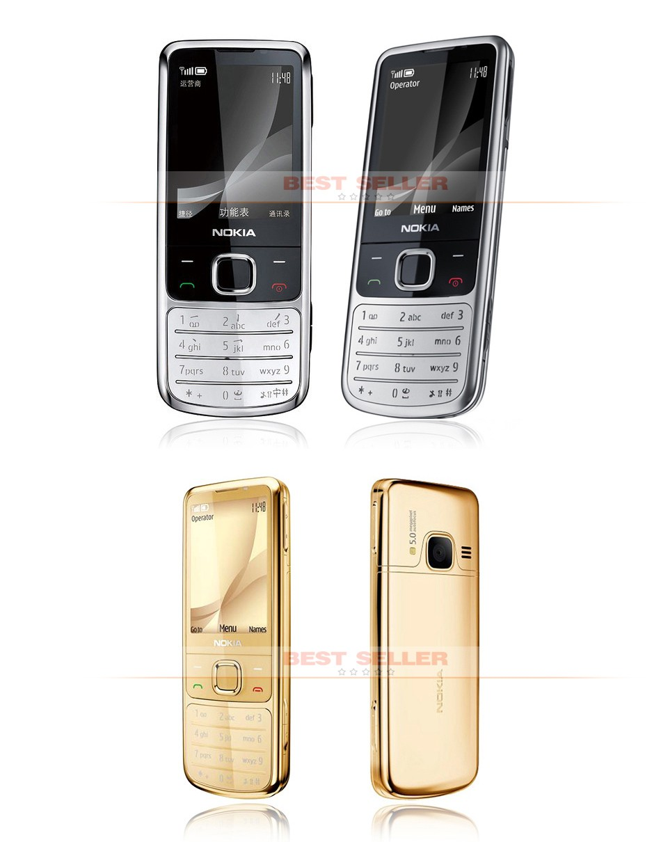 Refurbished phone 6700C Cell Phone Unlocked Nokia 6700 Classic GSM 3G Gps Mobile Phone 5MP Camera gold 2
