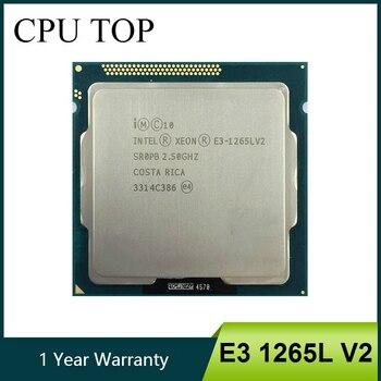 Intel Xeon E3 1265L V2 czterordzeniowy 2.50GHz 5 GT/s SR0PB LGA1155 procesora