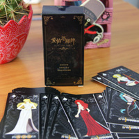Mini Love Tarot Classic Divination Poker Cards Creative Board Games Chinese English Edition For Astrologer With