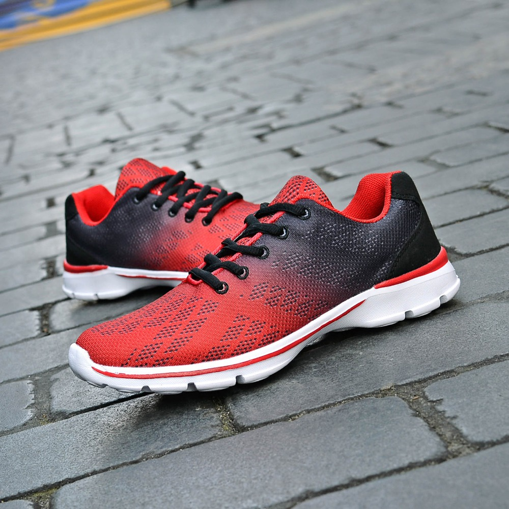 QANSI New Gradually Changing Color Women Running Shoes Spring Autumn Breathable Shoes Outdoor Sport Sneakers For Female 1678W 15