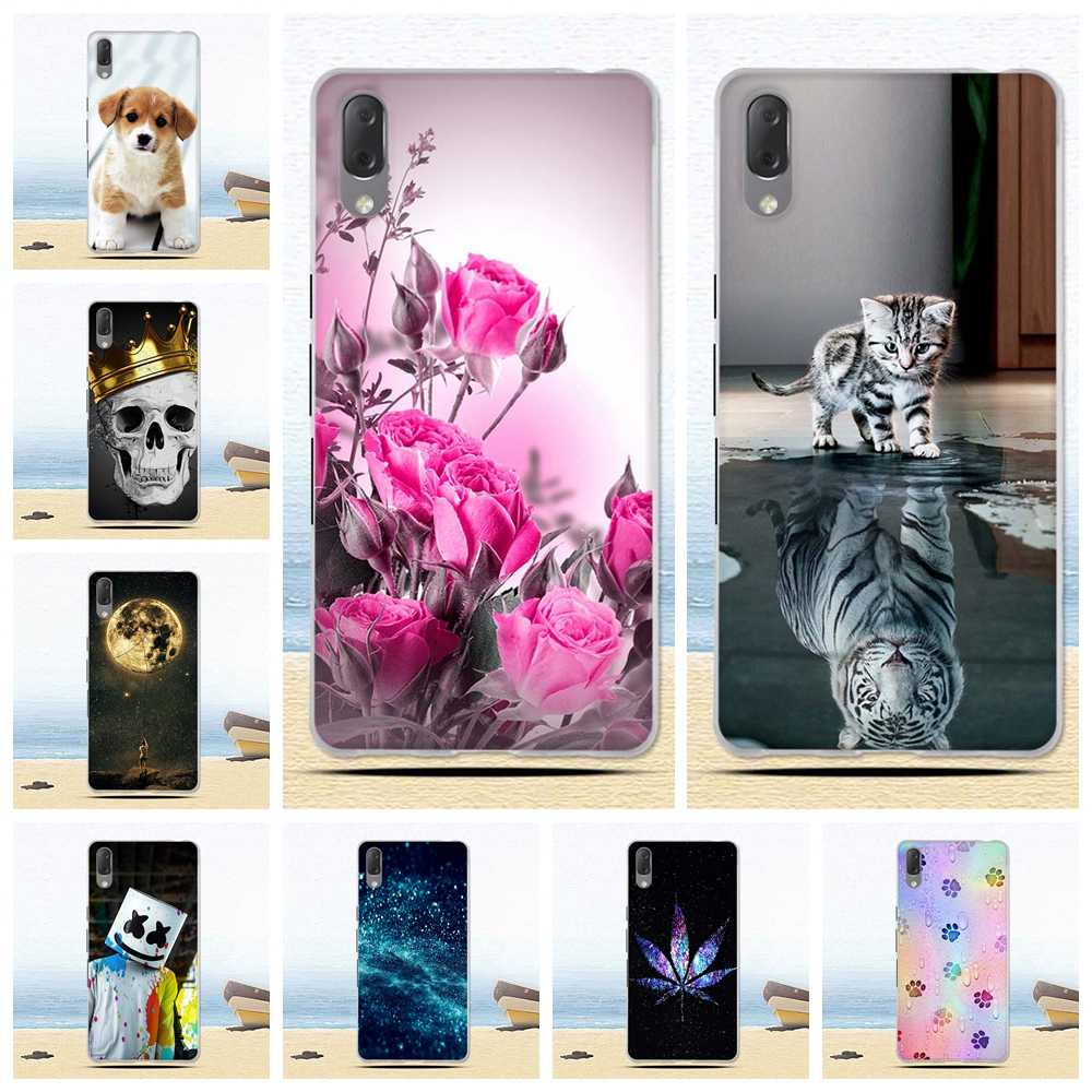 Soft TPU Phone Cases for Sony Xperia L3 I3312 I4312 I4332 I3322 Case Silicone Cover Ultra Thin Slim Pattern Phone Shockproof