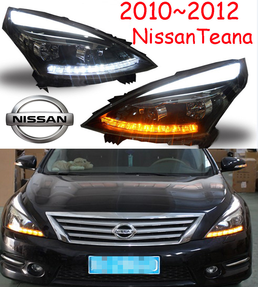 Teana headlight,2008~2012,(LHD,If RHD need add 200USD),Free ship! Teana fog light,2ps/se+2pcs Ballast,altima,titanTeana cadilla srx headlight 2011 2015 fit for lhd if rhd need add 300usd free ship srx fog light 2ps set 2pcs ballast srx