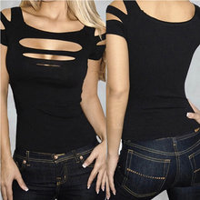 fd37804d1 Ripped Black Shirt - Compra lotes baratos de Ripped Black Shirt de ...