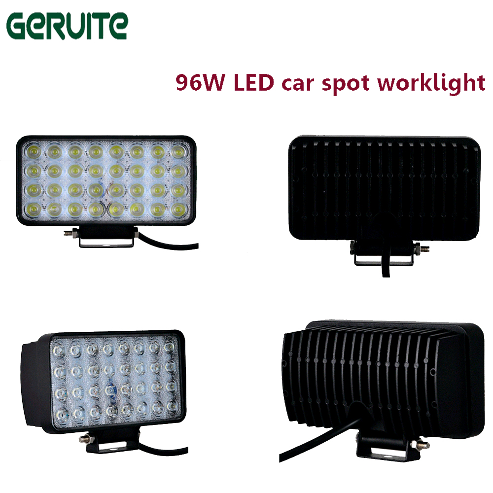 96W 9000Lm Off Road LED Light Bar Spot Flood Beam Combo for toyota BMW Jeep Cabin Boat SUV Truck Car ATV Fog Lights 1pcs 120w 12 12v 24v led light bar spot flood combo beam led work light offroad led driving lamp for suv atv utv wagon 4wd 4x4