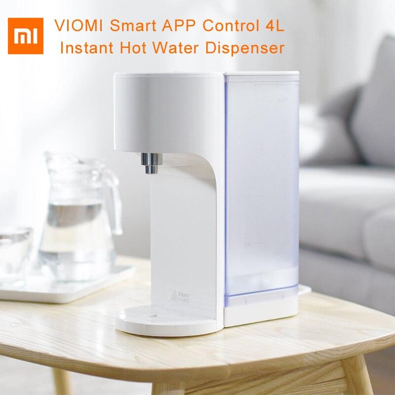 Original Xiaomi Viomi distributeur d'eau chaude intelligente 4L App contrôle de température capteur de niveau d'eau moniteur de qualité de l'eau pour smarthom
