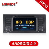 MEKEDE Android 9.0 7inch car dvd radio multimedia player For BMW X5 M5 E39 E53 stereo video can bus steering wheel control+MAP
