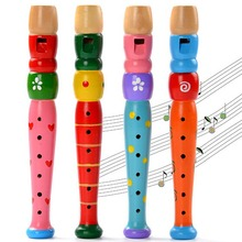 Toys Musical Instrument Baby children learning designed plastic Piccolo Learning education gifts Sound Jigsaw Light Rattles kids
