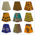 Most popular african print wax fabric veritable wax high quality 100% cotton guaranteed dutch real wax 6 yards/pcs for sewing