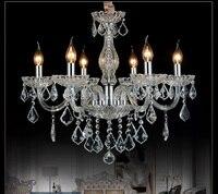 Best руки черные Американский eruopean k9 Хрустальная люстра Cristal Lustre led 6 и 8 рук продажи столовая огни