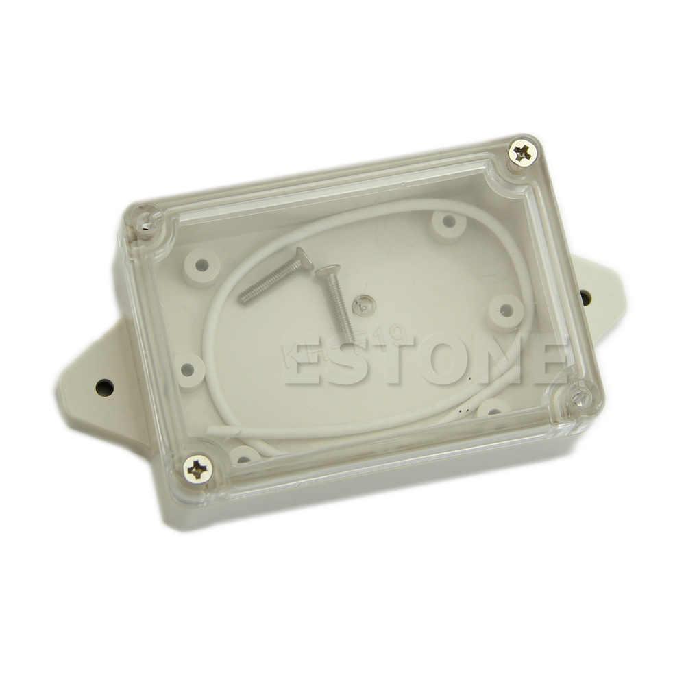 Kualitas Tinggi Plastik Tahan Air Penutup Bening Elektronik Proyek Box Enclosure Case 85*58*33 Mm