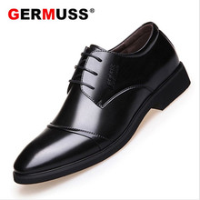 New style Summer Classic Man Mens Dress Shoes Wedding Oxfords leather Formal men office business lace-up zapatos de hombre