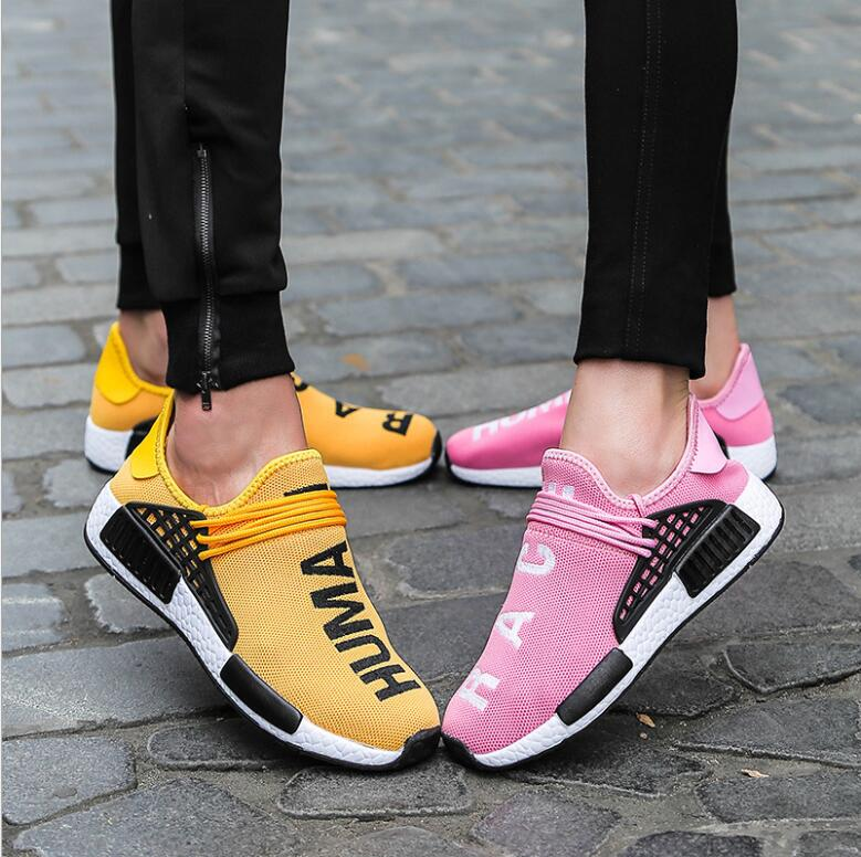 Female Male 2018 Light Running Shoes Breathable Soft Sneakers Comfort Women Men Sports Footwears Jogging Walking