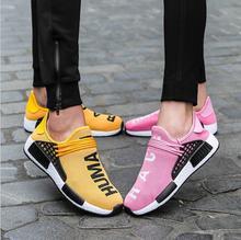 Женский Мужской 2018 легкие кроссовки дышащие мягкие кроссовки комфорт Для женщин Для мужчин Спортивная обувь для бега Прогулки Спортивная обувь