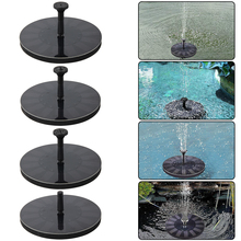 Solar Fountain Water Garden Pool Pond Outdoor Panel Floating Decoration