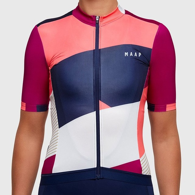 maap usa mtb team women tops wear kits custom cycling female downhill  maillot breathable cycling jersey roupa ciclismo bicicleta c21975895