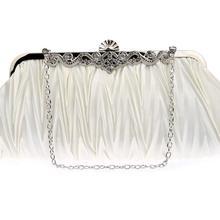 Evening Bag Women Noble Elegant Cosmetic Bag Exquisite Lady Rhinestone  Makeup Bag High Quality Girl Bridal 7b7a1d6a27d1