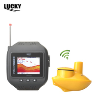 2015 New Watch Type Sonar Fish Finder Wireless Fishfinder200 Feet 60M Range Protable Echo Fishing Sounder
