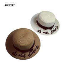 38cc0c3f 2017 Summer Hats For Women Panama Bow Sombrero Sun Ladies Chapeau Femme  Straw Hat Foldable Beach