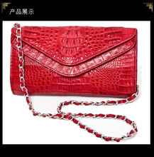 100% genuine crocodile leather wallets and purse alligator skin wallets women clutch alligator skin