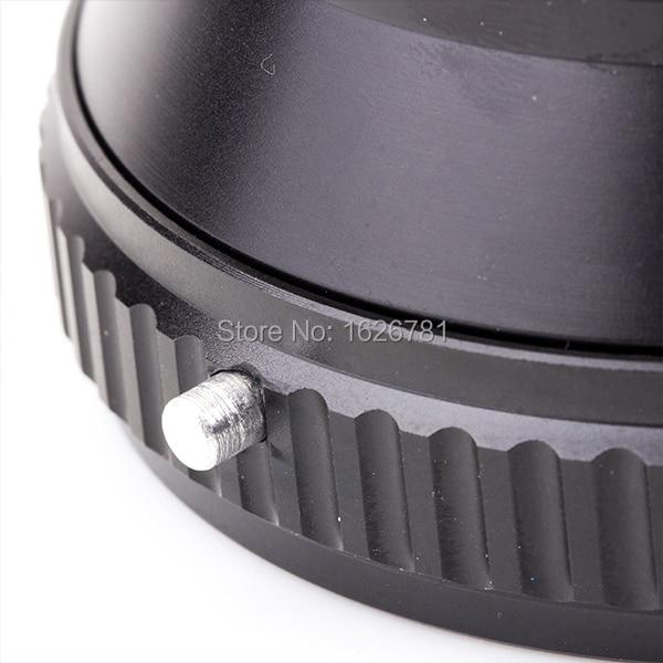 Prilagodljiva obleka za objektiv Venes za Hasselblad-NEX do Sony E - Kamera in foto - Fotografija 5