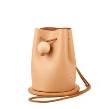 New arrival Designer Fringe Drawstring Bucket Bag Genuine Leather Handbag Fashion Ladies Tassel women messenger bags RY8003