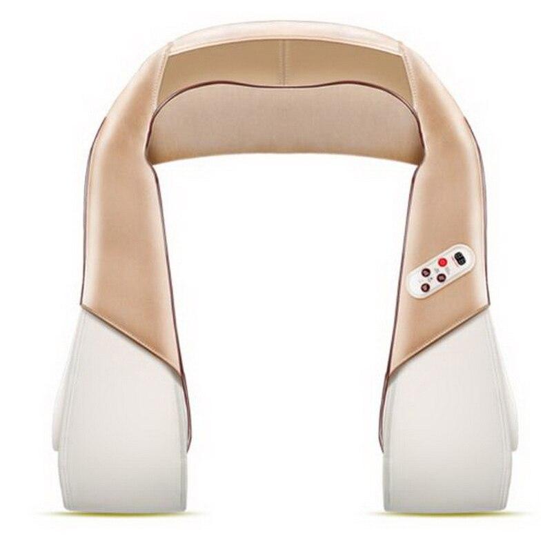 120711/Shoulder and neck massage shawl shoulder and neck neck and shoulder neck waist electric massage instrument цена 2017