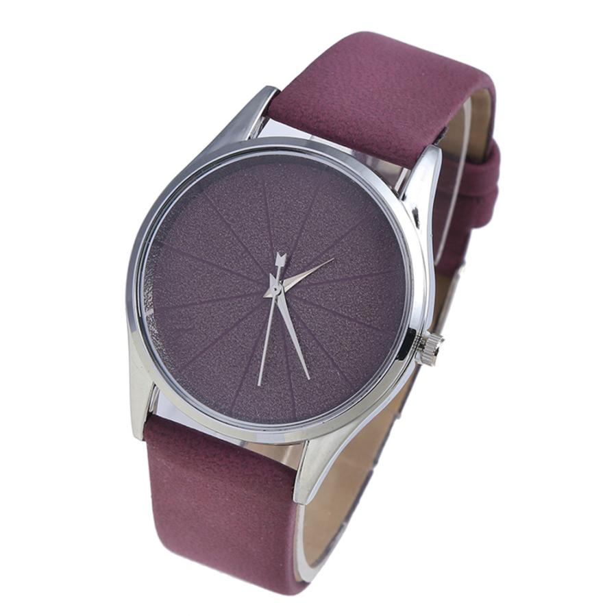 2018 Simple pure color Souvenir Ladies WristWatch silent Temperament hand clock Fashionabl