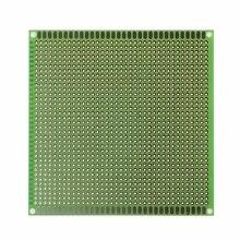 10x10 см Односторонний Прототип PCB Луженая DIY универсальная FR4 печатная плата
