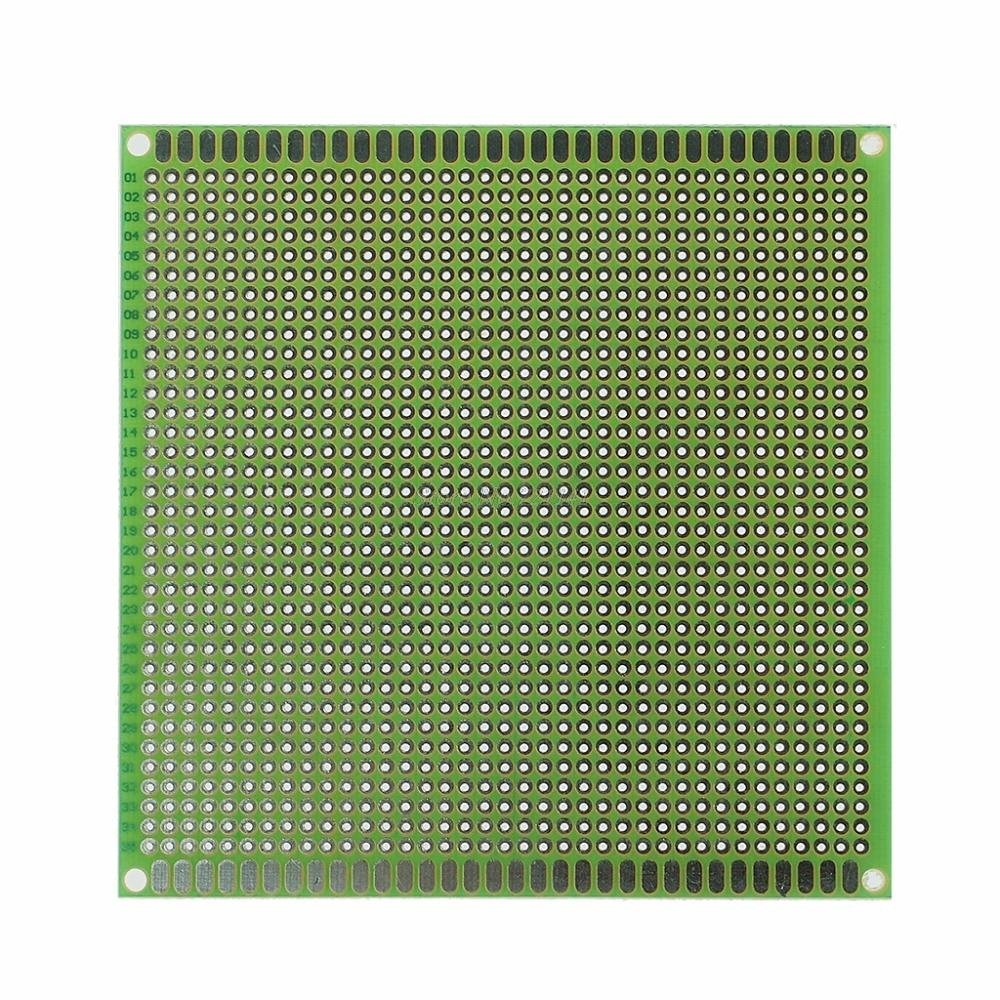 10x10cm Single Side Prototype PCB Tinned DIY Universal FR4 Printed Circuit Board