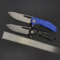 CH New Arrival CH3509 Folding Knife D2 Steel Blade G10 Handle Ball bearing Outdoor Camping Utility Tactical  Knives EDC Tools