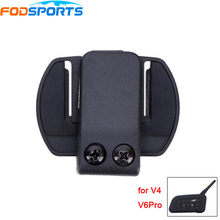 Fodsports v6 1200 Motorcycle Intercom Clip for V4 Motorcycle Helmet Bluetooth Interphone Bracket Clip Accessories Holder Buckle(China)
