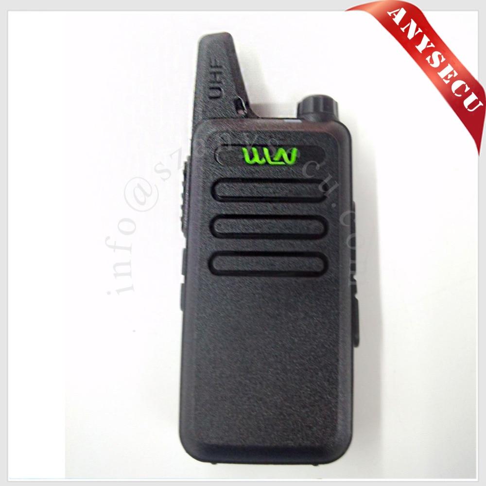 RFD KD-C1 Mini Talkie Walkie UHF 400-470 MHz 5 W Puissance 16 Canaux MINI-Émetteur-Récepteur de poche Mieux que BF-888S