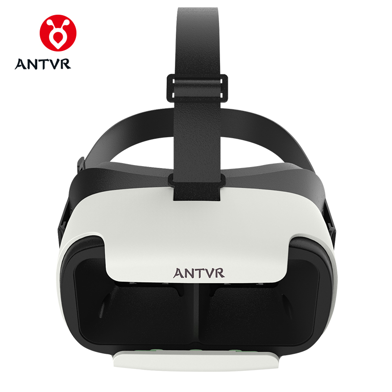 ANTVR Loop distortion-free box 3D VR Glasses VR Helmet Headset Head-mounted for 5-6 inch Android IOS iPhone Samsung Xiaomi Phone