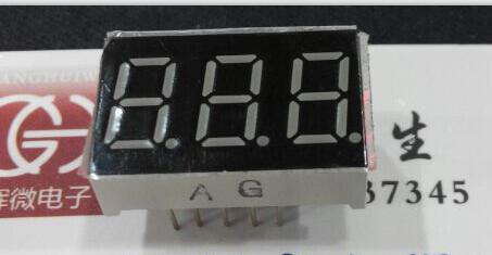 100 PCS LD-3361AG 3 Digit 0.36 GREEN 7 SEGMENT LED DISPLAY COMMON CATHODE 100 pcs ld 3361ag 3 digit 0 36 green 7 segment led display common cathode