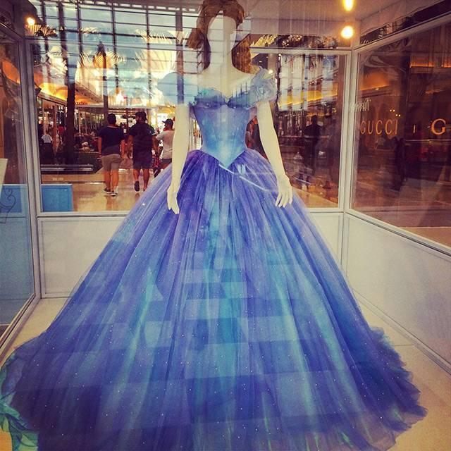 Cinderella movie dress color