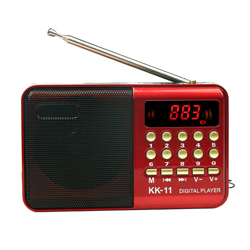 K11 old mini radio MP3 old card multi function radio portable recorder in Radio from Consumer Electronics