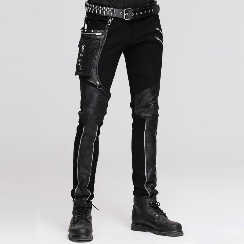 Devil Fashion Punk Leather Pants