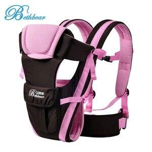 Image 2 - Многофункциональный дышащий слинг Bethbear для детей 0 30 месяцев, кенгуру 4 в 1 для детей