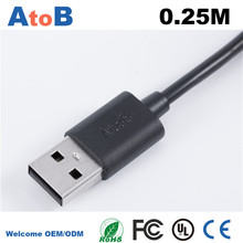 6 Feet Aluminiu For Lenovo CD-10 micro USB data cable original Round Android double shielded CE FCC RoHS UL ETL